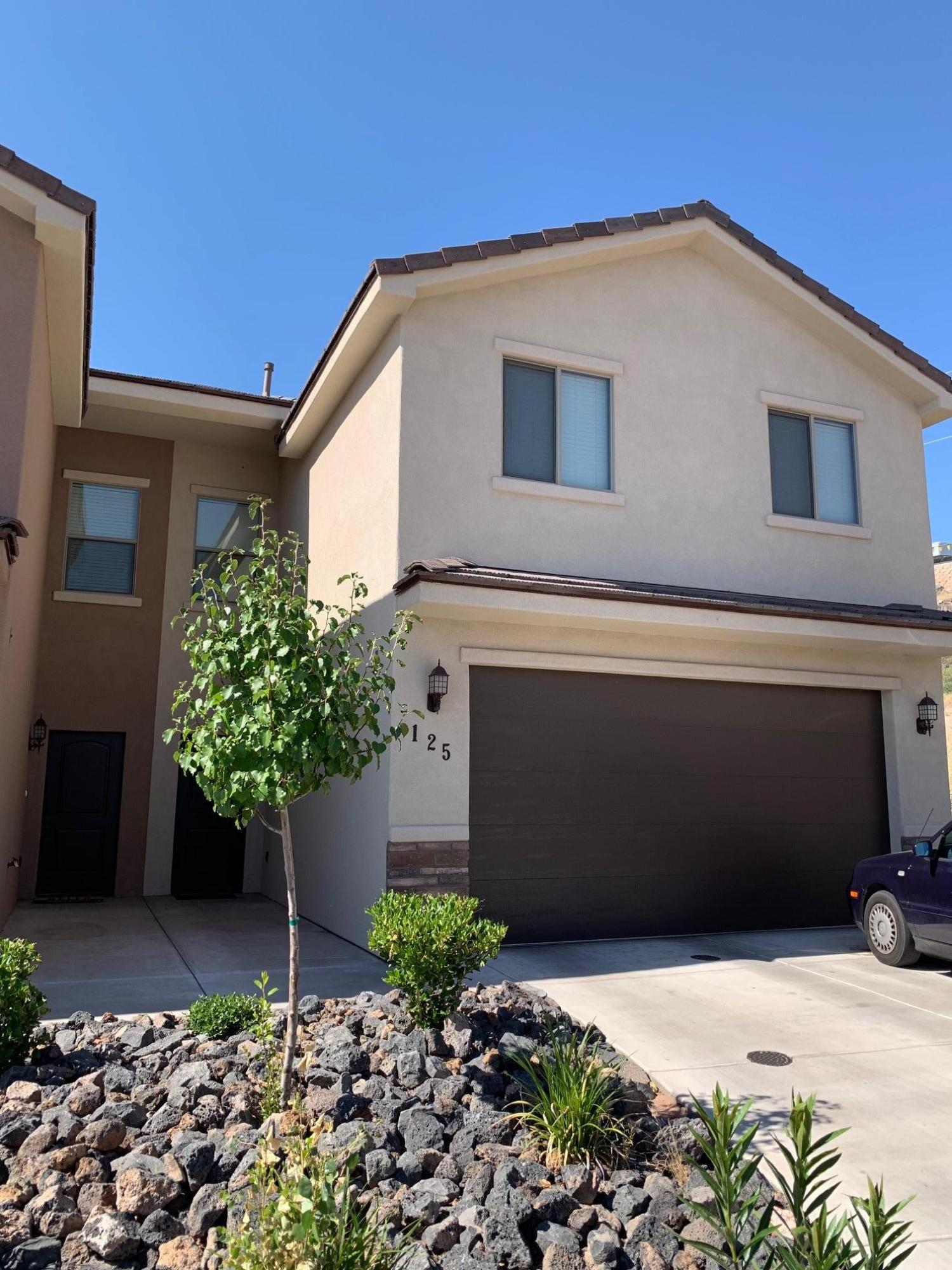 Nearly New! Great floor plan with nice finishes, granite, tile, 2 tone paint and nice enclosed back yard patio. This town home has a 2 car garage, low HOA, and lots of square footage for the price. Awesome first time home buyer, investor, family or snow bird.