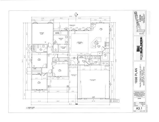 This home is to be built on Lot 1 Phase 2 Talon Pointe at South Mountain. Four bedroom two bath home with a great open floor plan. Large pantry and mudroom. Custom cabinets, upgraded laminate throughout the living area carpet in the bedrooms, extended back patio, you may still be able to choose some of the finishes.