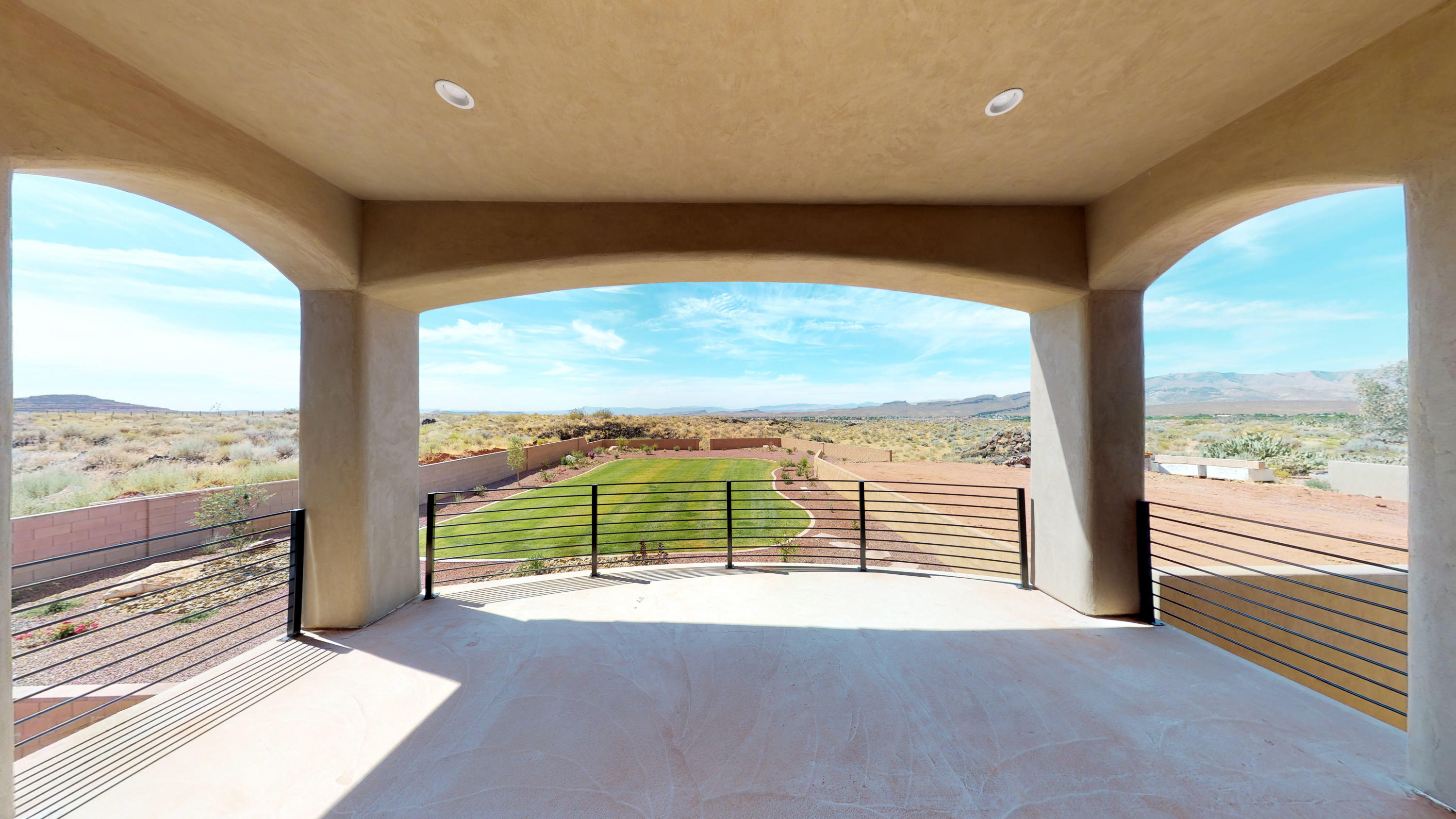 Horse property in Ivins!!! Breathtaking views from every angle of this Ivins property. Luxury and privacy are found inside and outside on this custom home. 5 bedrooms, 5.5 bathrooms, theater room, amazing backyard, 3 car garage and spacious driveway. This property has a casita for your guests with its own entrance. This is a MUST see home!