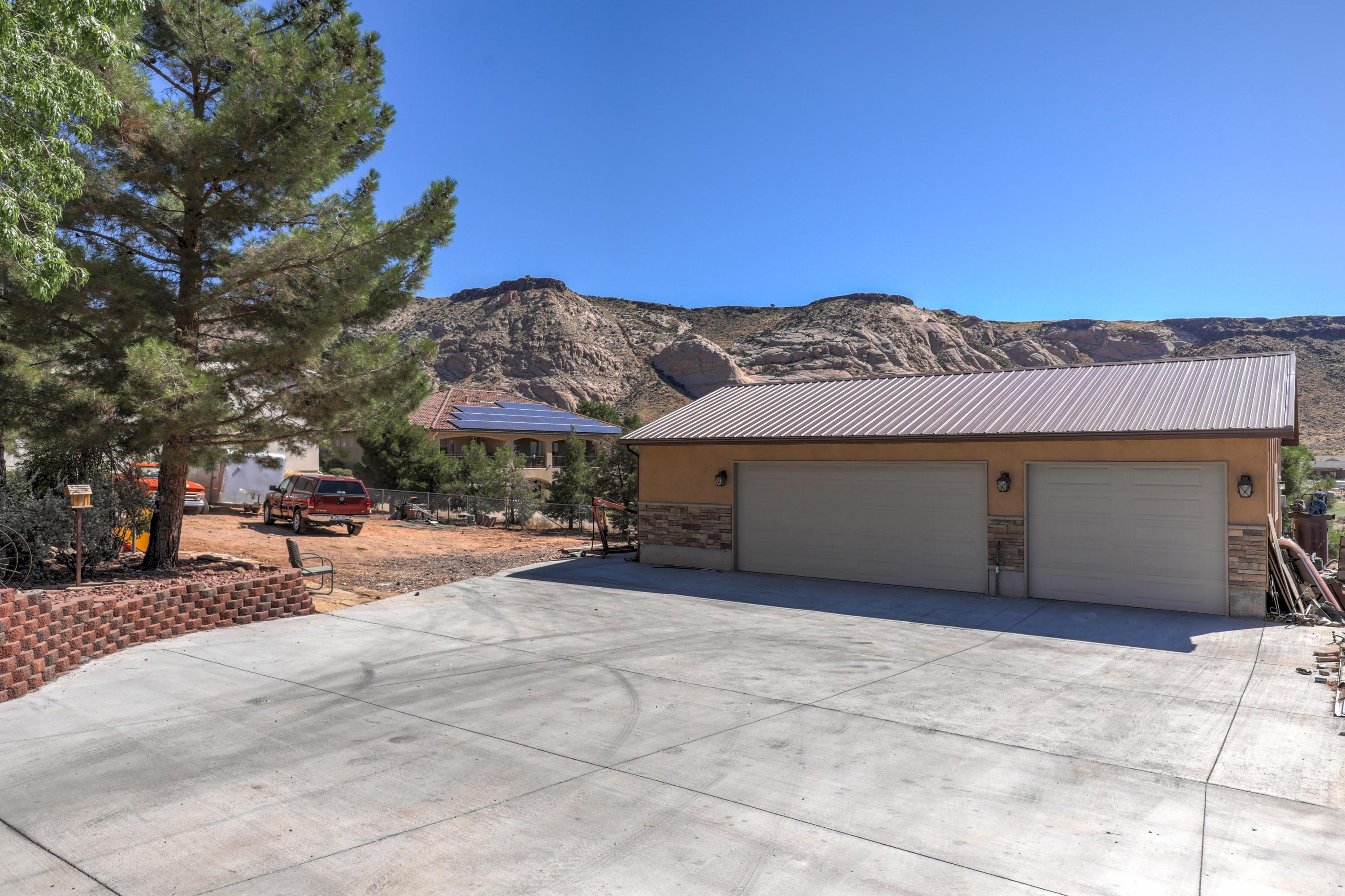 Beautiful updated home on an acre of horse property.  Quartz countertops, 4 1/2\