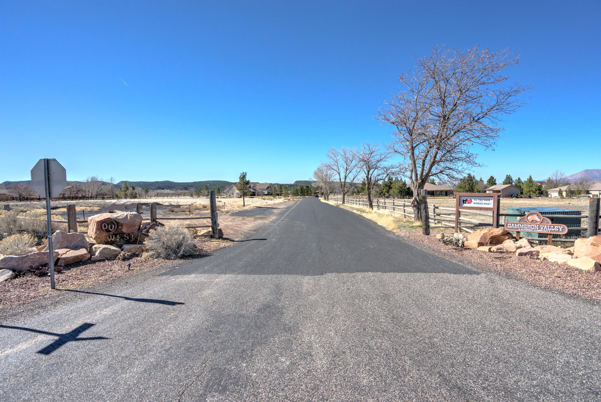 Beautiful piece of horse property in Dammeron Valley. Out buildings are permitted on the property. It\