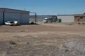 8000 sq/ft of hangar space available for lease @ $.35 per sq/ft per month ($2800). Landlord/lessor will provide tenant improvements for an additional lease amount per month - to be negotiated. Superior location with a truck-high loading dock and a large hangar door. Information from county tax records. Buyer to verify.