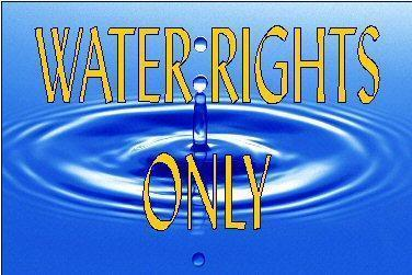 1 Ac/Ft Water Rights Only # 81-5096