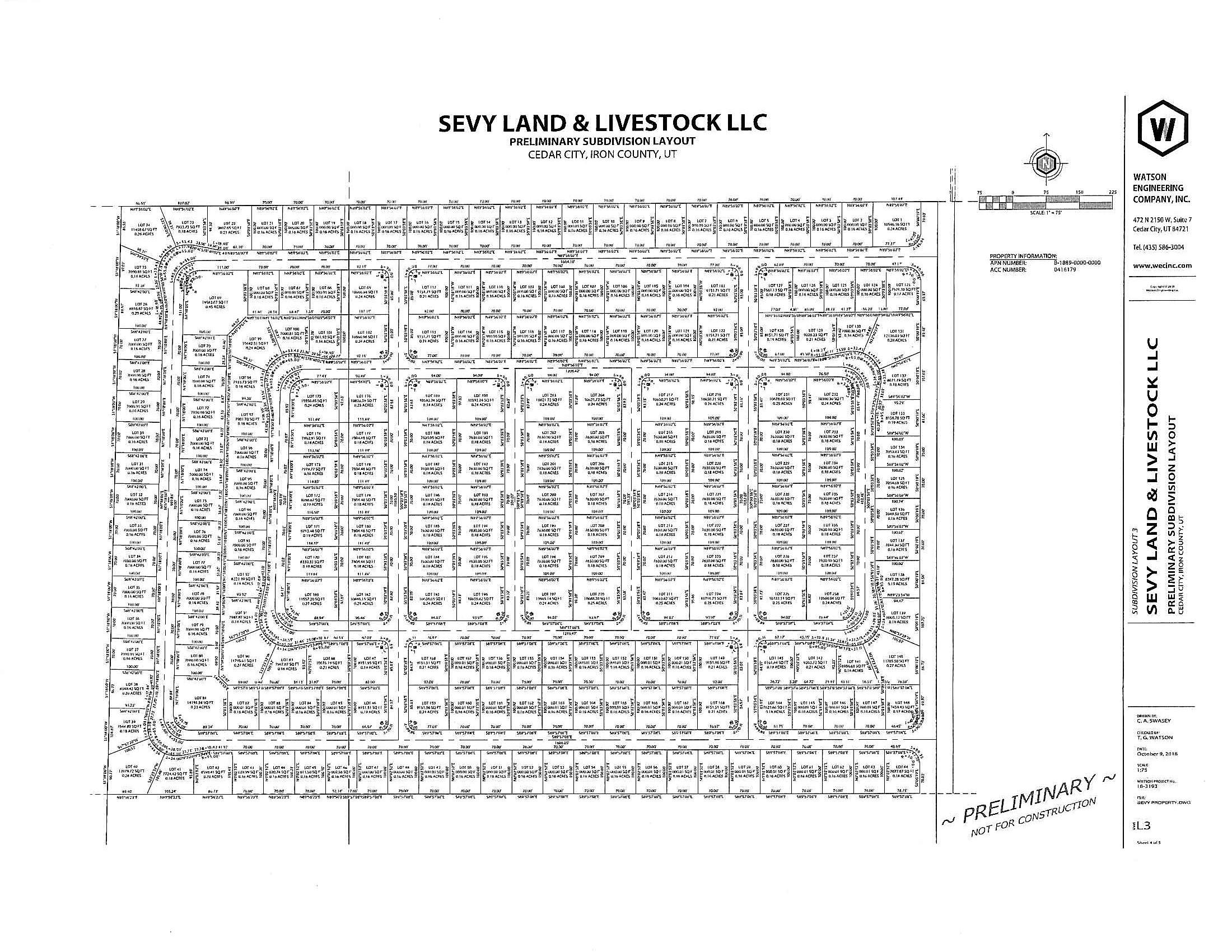 Amazing investment opportunity! 53 Acres of sub-dividable land. Great location right at the Southwest corner of Equestrian Pointe. Proposed Subdivision Layouts available. Easy access to water and power. No water rights included, water fees are paid with the city.  Could also be a good land bank opportunity, property is currently being farmed, would continue to farm and kept in green belt