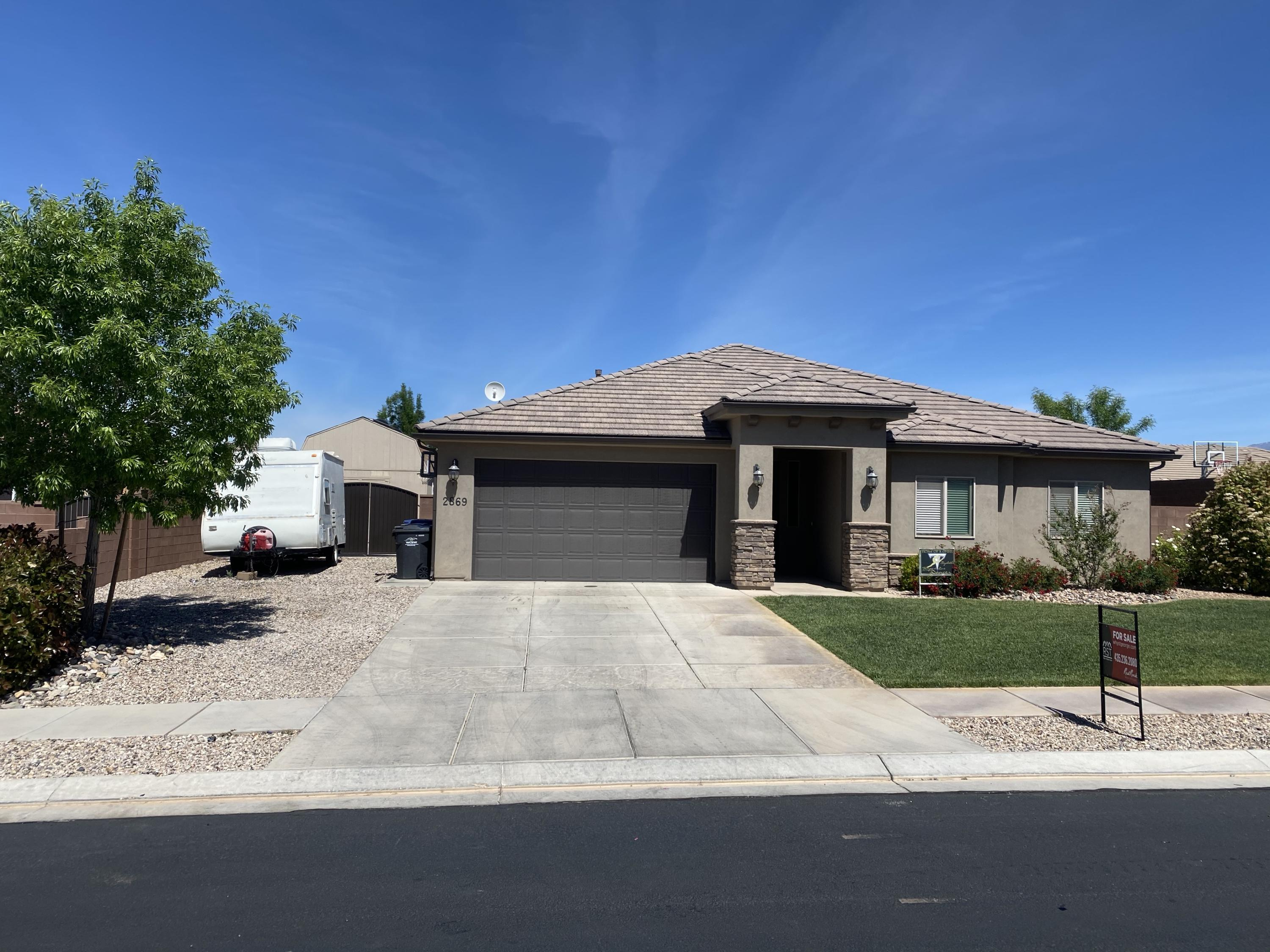 2869  Carmine   DR, St George in Washington County, UT 84790 Home for Sale
