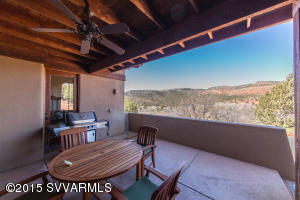 Ceiling Fan In Covered Patio