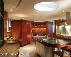 GOURMET KITCHEN IN MAIN RESIDENCE