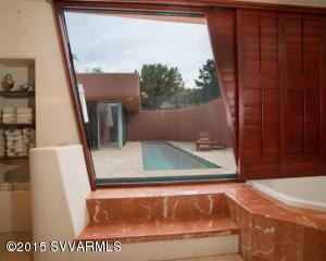 20-MASTER BATH -VIEW OF LAP POOL