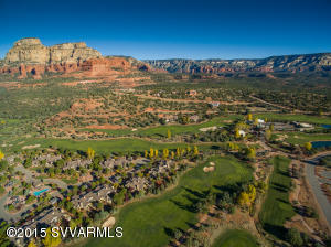 Aerial Of Seven Canyons Golf Community
