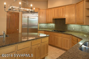 Gourmet Kitchen With Granite