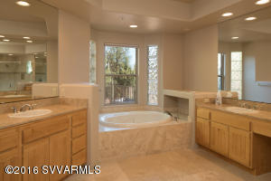 Master Bath With His & Her Vanities
