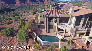 Aerial Views Of Pool & Spa
