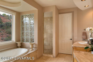 Master Bathroom With Rich