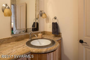 Powder Room On Main Living Level