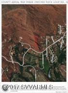 AERIAL COUNTY MAP IMAGE RED ROCK LOOP