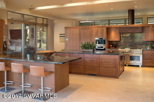 GOURMET KITCHEN WITH ISLAND