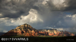 VIEWS OF THUNDER MOUNTAIN IN WEST SEDONA
