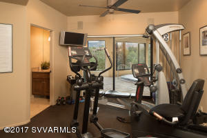 Fitness Room + Indoor Pool