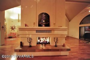 Dining Side of Fireplace
