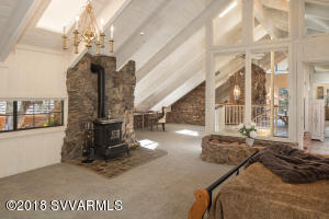 Wood Stove In Second Master Suite