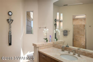 GUEST BATHROOM AND WALK-IN SHOWER