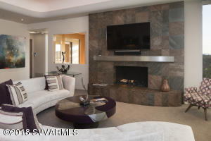 NEW CONTEMPORARY GAS FIREPLACE