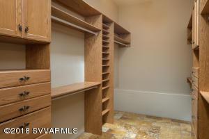 Custom Walk-In Closet In Master Suite