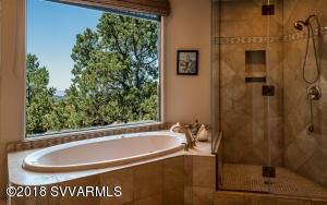 Master Bath Tub and Shower