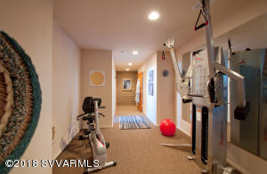 Workout Area Lower Level