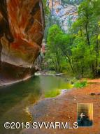 Hiking in West Fork in Oak Creek Canyon