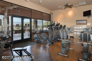 Fitness Facility At Clubhouse