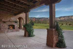 Covered Patio & Miles Of Enchanting View