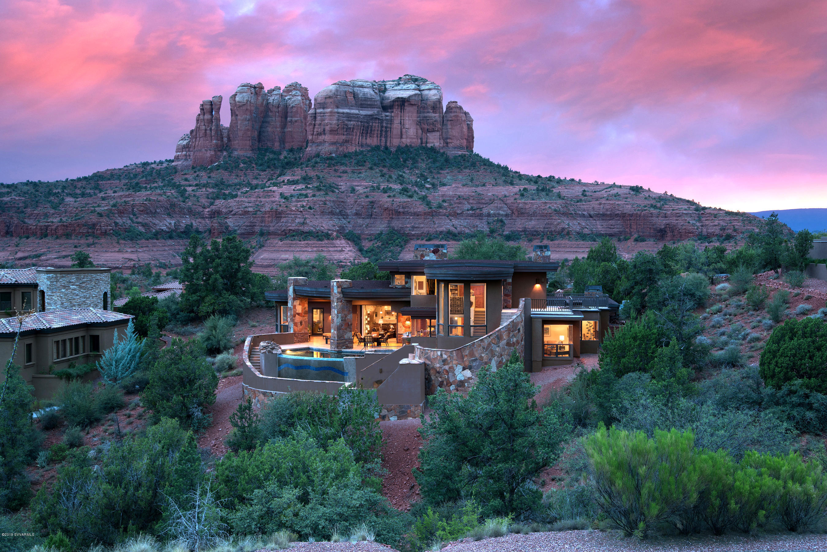 One of Sedona 5 Bedroom Homes for Sale at 100  Scenic Drive