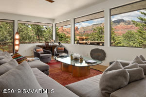 EXPANSIVE VIEWS FROM GREAT ROOM