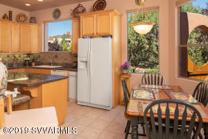 KITCHEN WITH BREAKFAST DINING AREA