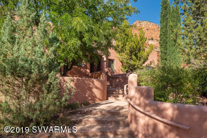 Grand Entry With Red Rock Views