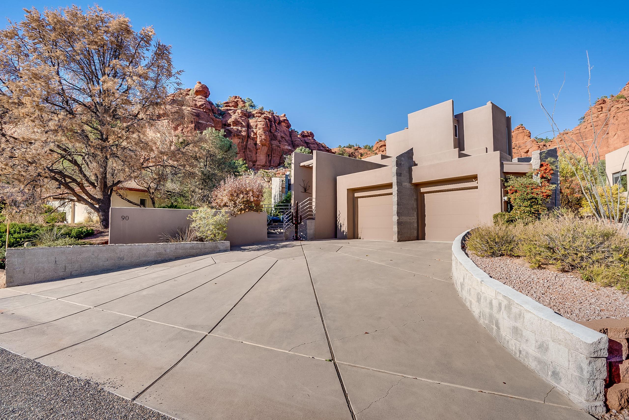 90  Soldier Basin Drive, Sedona in Yavapai County, AZ 86351 Home for Sale