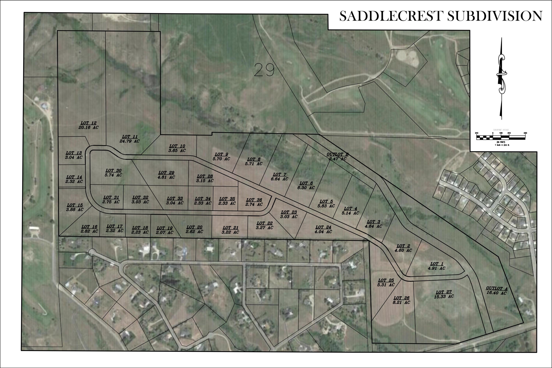 SaddleCrest Drive, Sheridan, Wyoming 82801, ,Building Site,For Sale,SaddleCrest,18-1077