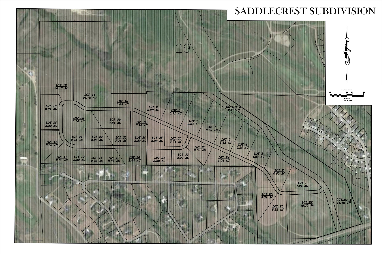 SaddleCrest Drive, Sheridan, Wyoming 82801, ,Building Site,For Sale,SaddleCrest,18-1093