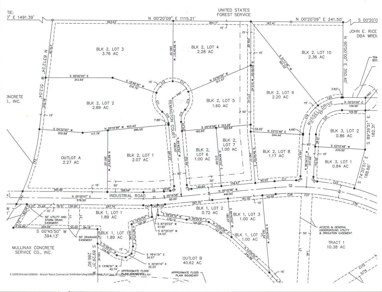 2850 Russell Drive, Sheridan, Wyoming 82801, ,Commercial,For Sale,Russell,19-62