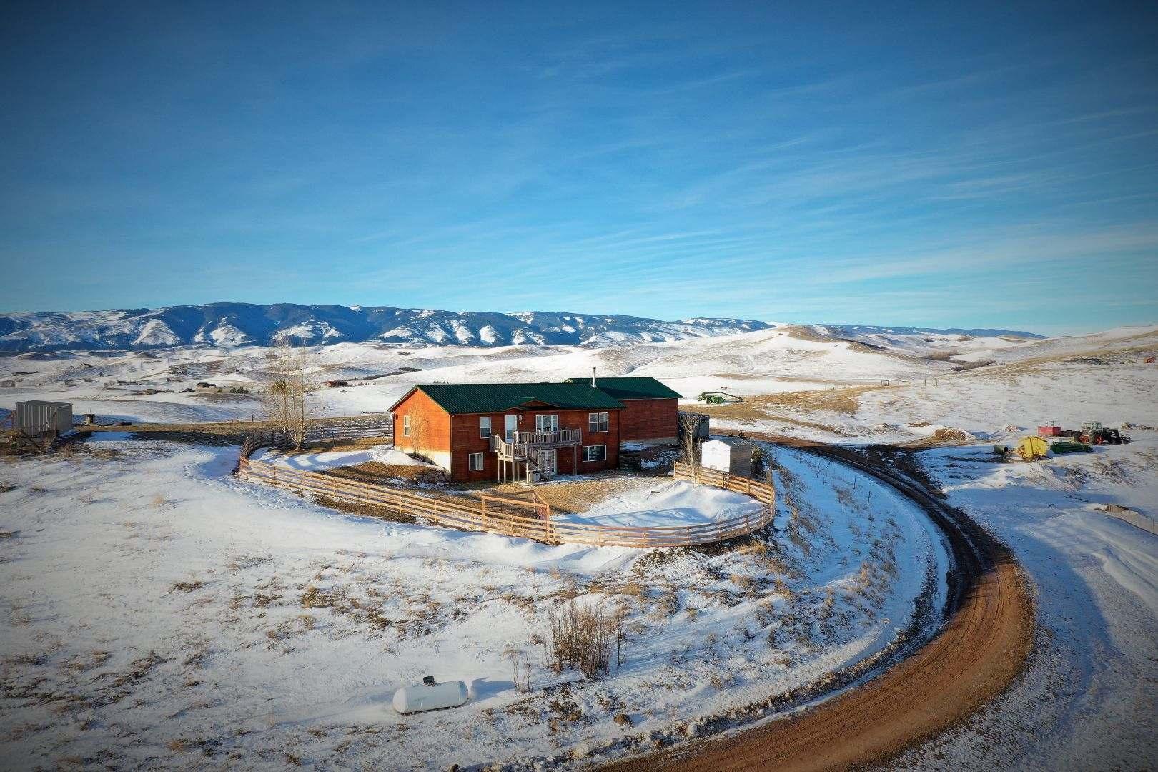 200 Barker Road, Parkman, Wyoming 82838, 4 Bedrooms Bedrooms, ,2 BathroomsBathrooms,Residential,For Sale,Barker,18-1235