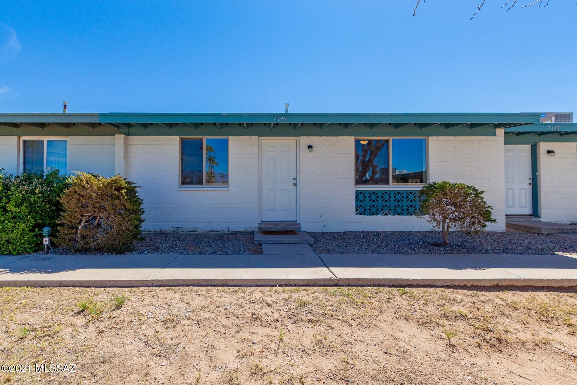 Photo of 7449 E Desert Spring Drive, Tucson, AZ 85730