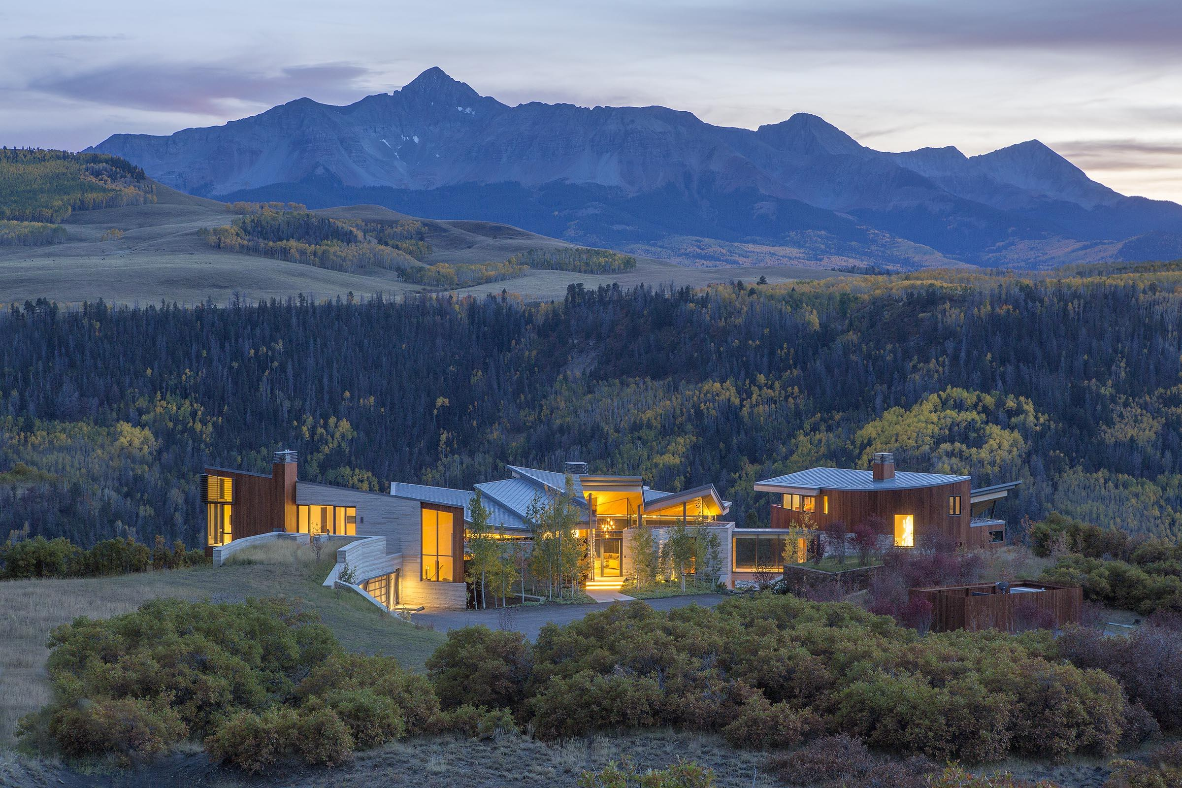 Single Family Home For Sale At Sunset Ridge 296 Gray Head Lane Telluride,  Colorado,