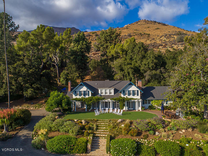 Single Family Home for Sale at 1563 Gridley Road 1563 Gridley Road Ojai, California 93023 United States