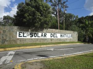 Terreno En Ventaen Caracas, Solar Del Hatillo, Venezuela, VE RAH: 13-9048