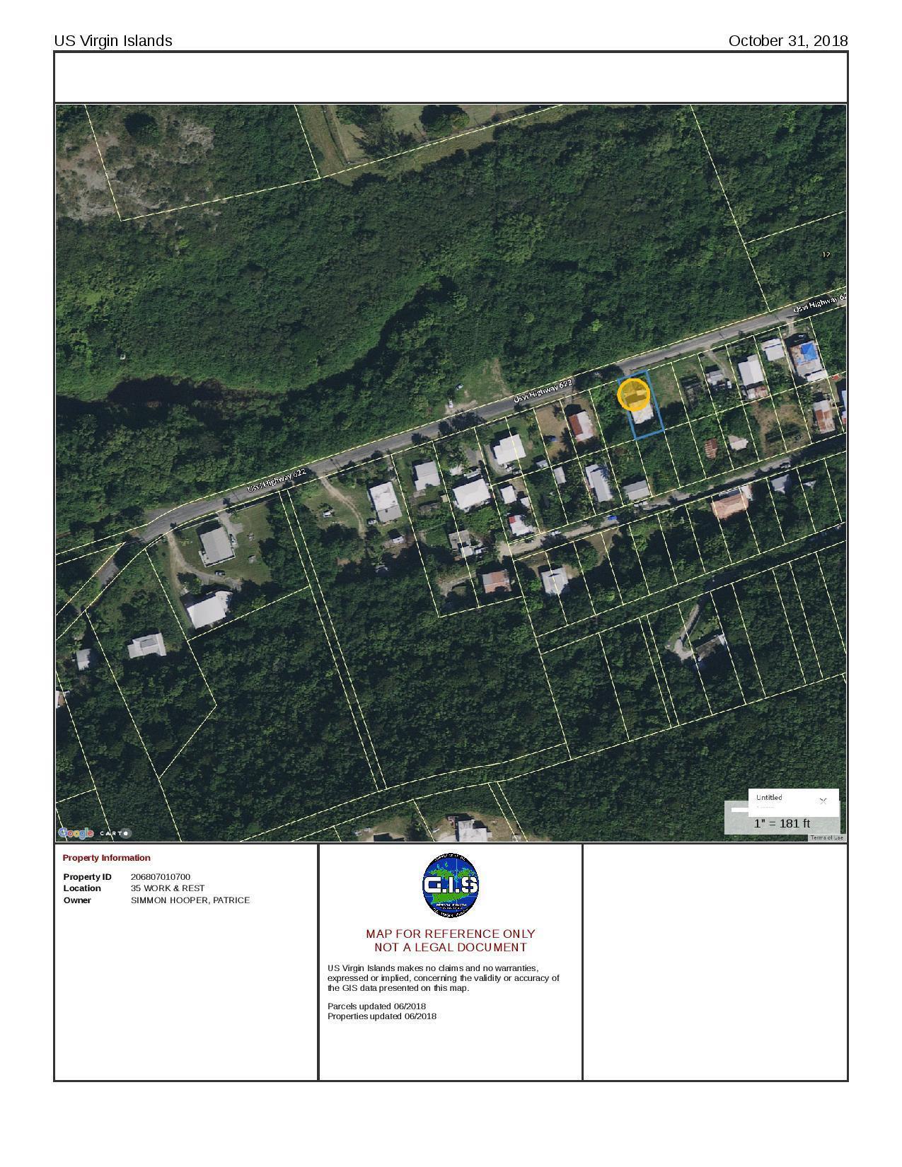 Land for Sale at 35 Work & Rest CO 35 Work & Rest CO St Croix, Virgin Islands 00820 United States Virgin Islands