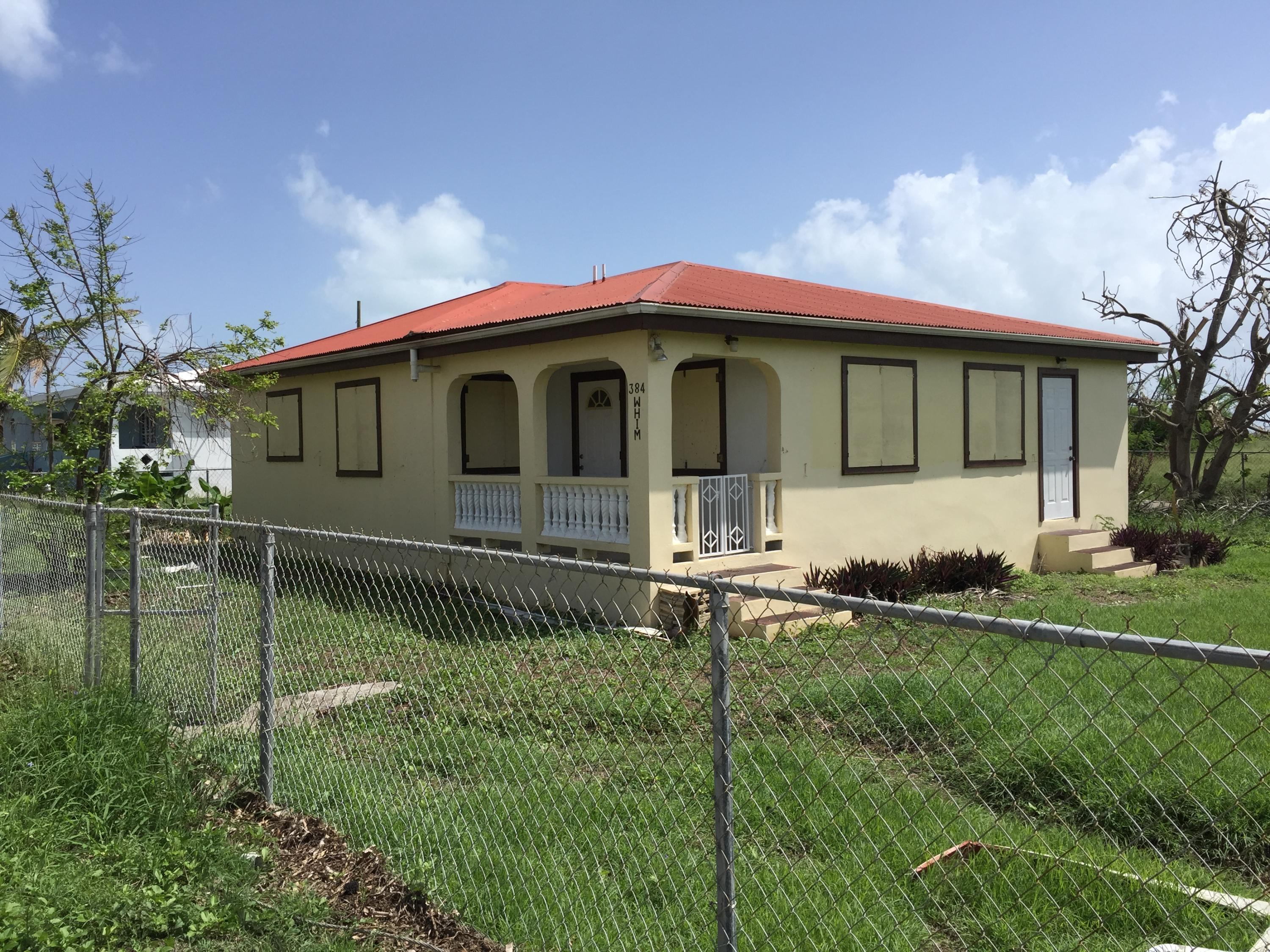 Single Family Home for Sale at 384 Whim (Two Williams) WE 384 Whim (Two Williams) WE St Croix, Virgin Islands 00840 United States Virgin Islands