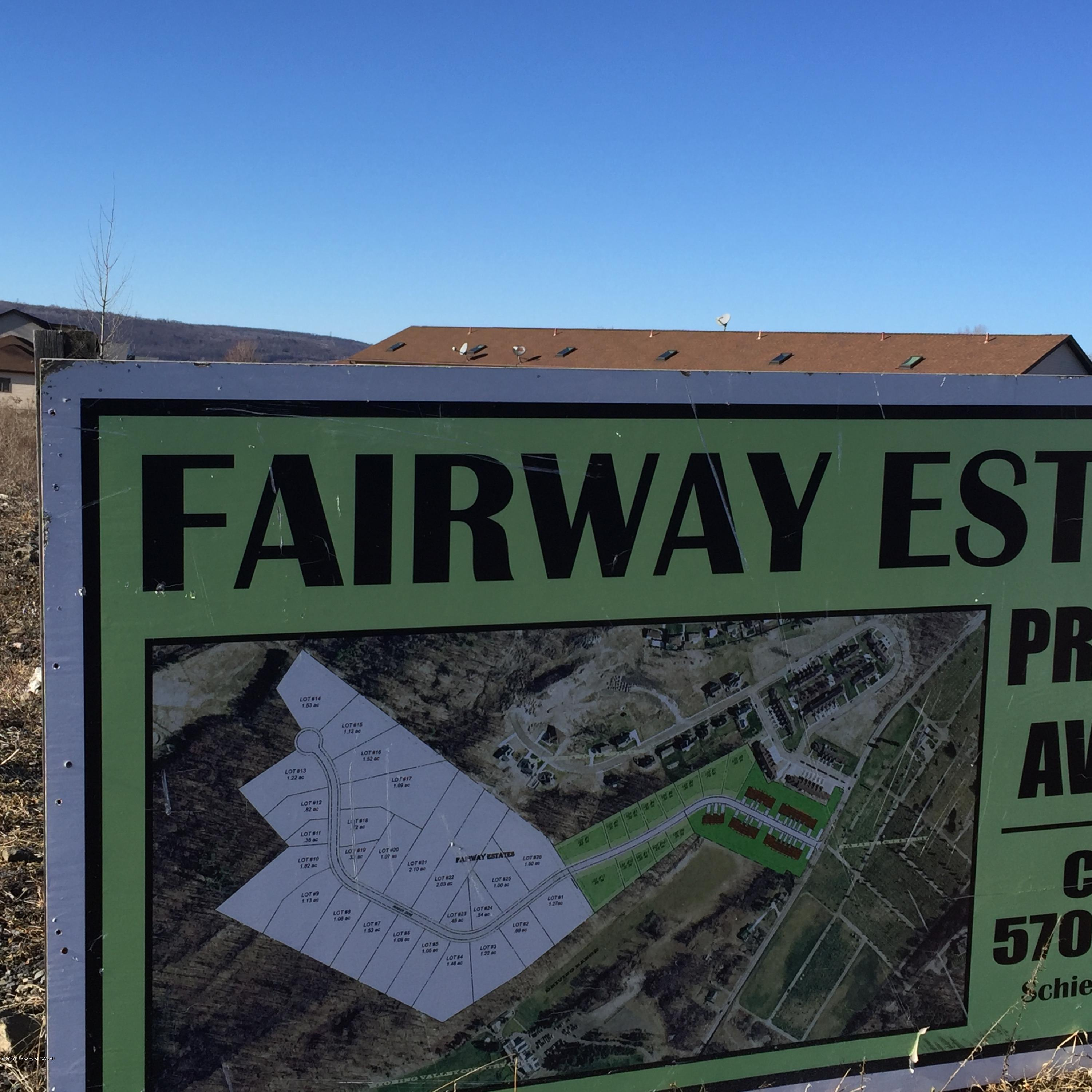 Fairway Estate sign