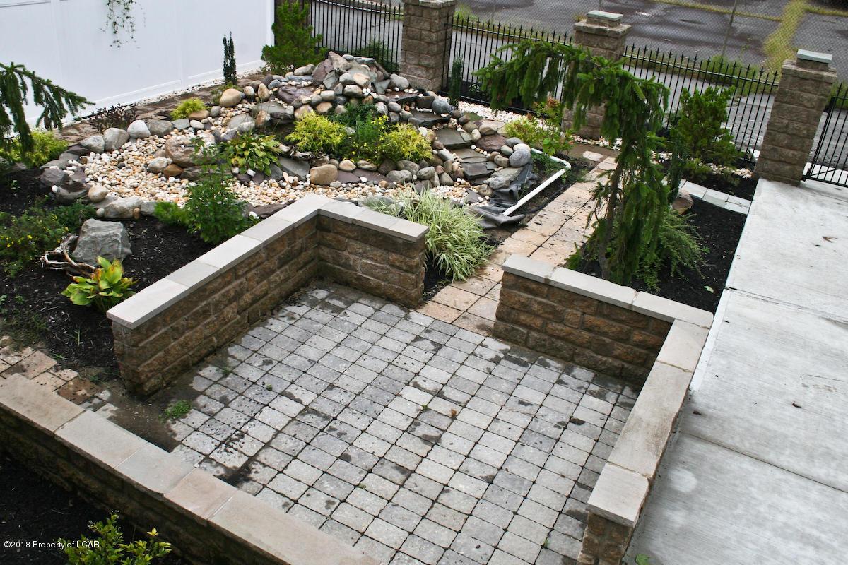 Paver patio/Waterfall