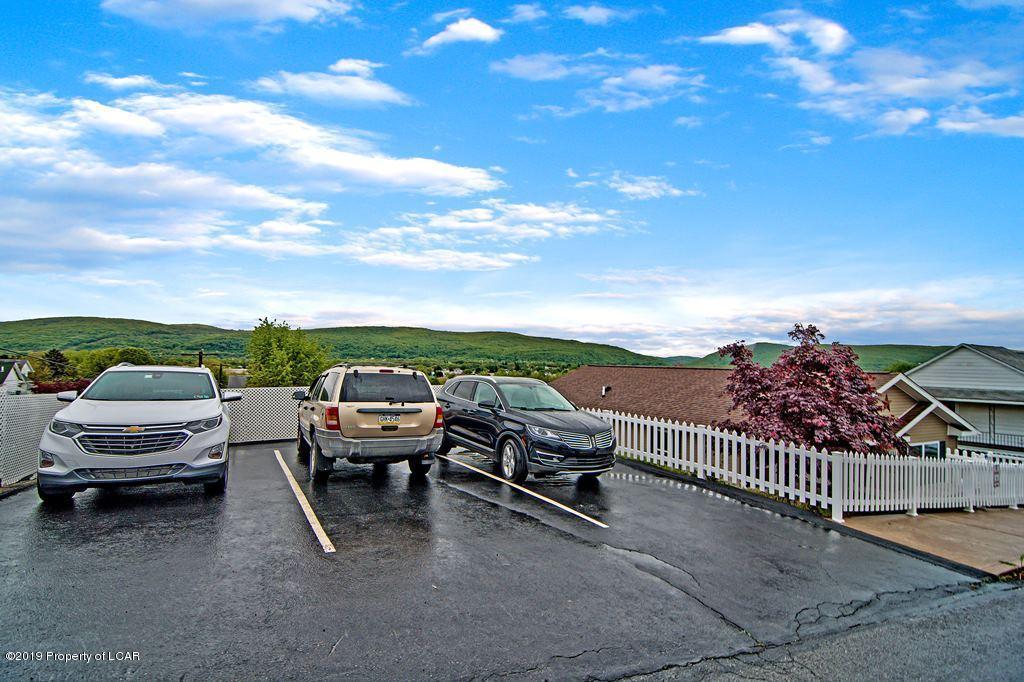 Upper parking pad